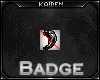 = Claw of Wolf Badge