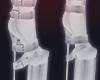 ☪ boots succubus white