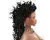 HAIR -Long Black Mohawk