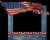 4th of july flag frame