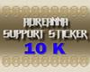 ADR# Support Sticker 10K