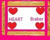 heart BRAKER choker