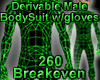 Derivable BodySuit Glove