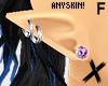 X F Elf Ears Purple