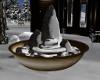 Winter Snow Fountain
