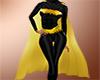 Batgirl arkham cloak