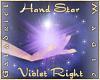 Hand Star (Violet Right)