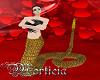 Animated snake gold