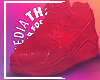 ⍫ Huaraches Red