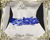 Belt flower blue