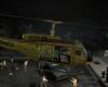 UH-1 Huey shark Hovering