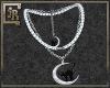 *JR Cat n Moon Necklace