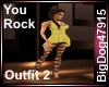 [BD] You Rock Outfit