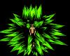 Spike Green Aura
