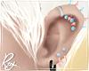 Pastel Piercings-Pnk+Blu
