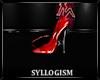 ~S Blush Red Heels