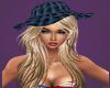 KandaceBlonde/ Navy Hat