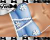 Blue Lace Flower Top