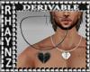 Heart Necklace Mesh *M