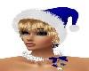 X-MAS BLUE HAT/BLONDE