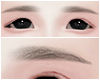 幸福. Korean Eyebrows