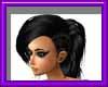 (sm)black ponytail braid