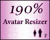 Avatar Resize Scaler 190