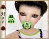 ~H~St. Patty 3 Pacifier
