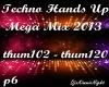 Techno Mega Mix 6/18