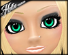 [Hot] Teal Sparkle Eyes