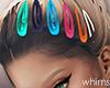 Colours Hair Clips
