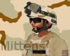3 Desert Mich Helmet