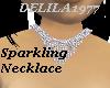 D77-Sparkling Necklace