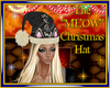 """The """"MEOW"""" Christmas Hat"""
