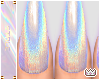 Holo Nails + Rings