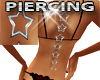 S Star Back Piercing