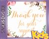 Kids Support Sticker