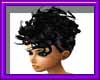 (sm)black updo curls sty