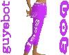 jess light purple pants