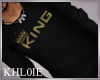 K King blk sweater