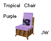 JW Tropical Chair Purple