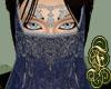 Cressida Jeweled Veil