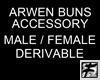 ~F~ Arwen Buns Addon M/F