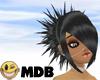 ~MDB~ BLACK DAZED HAIR