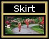 Jersey Rose Skirt