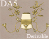 (A) Flower Wall Lamp