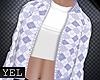 [Yel] Sophia blue jacket
