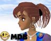 ~MDB~ AUBURN MINDY CLIP