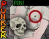 💀 Skull Shirt Pin
