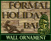 Holiday Wall Ornament